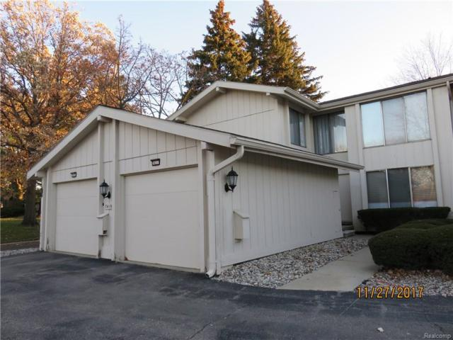 7419 Pebble Point #33, West Bloomfield Twp, MI 48322 (#218007273) :: RE/MAX Classic