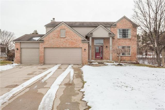 431 Low Bank Court, Commerce Twp, MI 48382 (MLS #218007501) :: The Toth Team