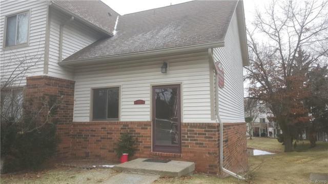 7300 Bluewater Drive Drive E #111, Springfield Twp, MI 48348 (#218007533) :: Duneske Real Estate Advisors
