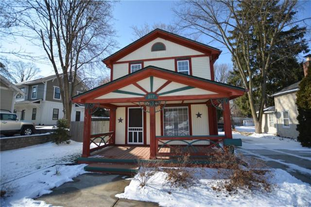 307 N Center Street, Northville, MI 48167 (#218007924) :: RE/MAX Classic