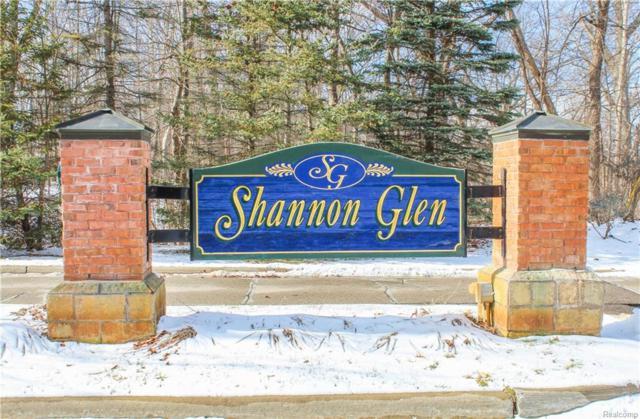 Lot 35 Shannon Glen Drive, Tyrone Twp, MI 48430 (#218008310) :: The Buckley Jolley Real Estate Team