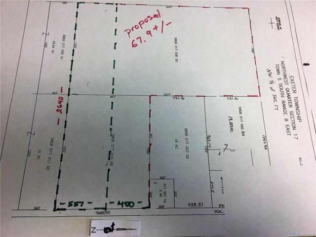 12333 Timbers Road, Exeter Twp, MI 48117 (#218008809) :: Metro Detroit Realty Team | eXp Realty LLC