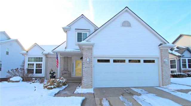 4335 W Pointe Drive, Waterford Twp, MI 48329 (#218008841) :: RE/MAX Classic