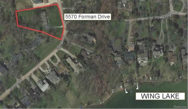 5570 Forman Drive, Bloomfield Twp, MI 48301 (#218008953) :: RE/MAX Classic