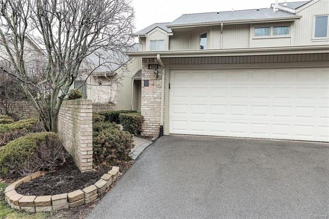 4321 Foxpointe Drive, West Bloomfield Twp, MI 48323 (MLS #218009251) :: The Toth Team