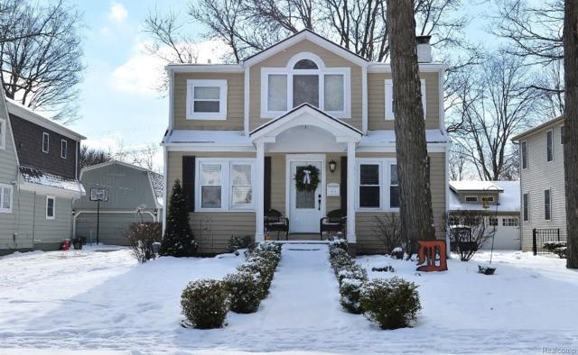 1815 Sycamore Avenue, Royal Oak, MI 48073 (#218012226) :: RE/MAX Classic