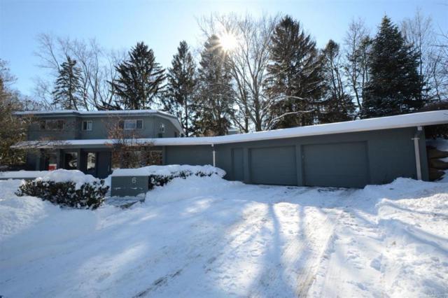 6 Shipman Circle, City Of Ann Arbor, MI 48104 (MLS #543254404) :: The Toth Team