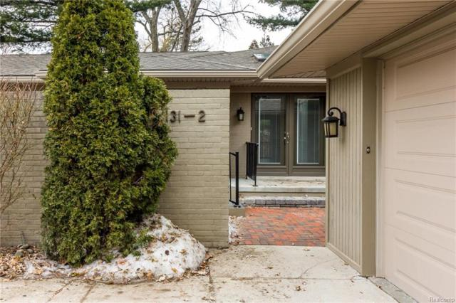131 E Long Lake Road #2, Bloomfield Hills, MI 48304 (#218012446) :: RE/MAX Classic