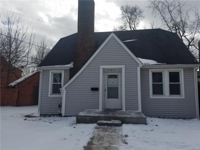 594 Lowell Street, Pontiac, MI 48340 (#218012762) :: RE/MAX Classic
