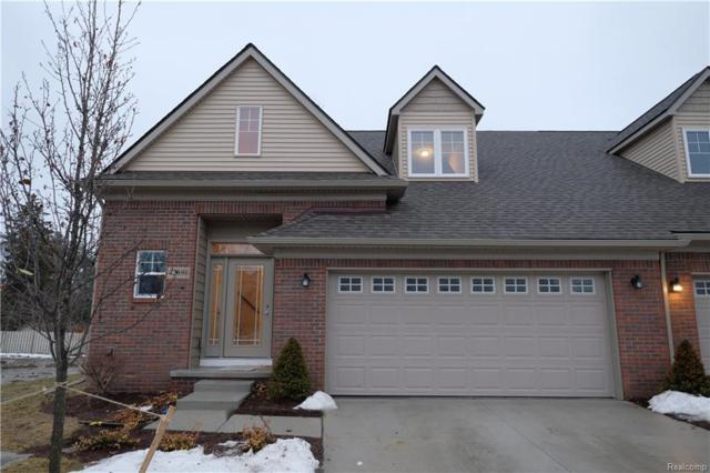 42432 Gateway Drive #46, Plymouth Twp, MI 48170 (#218012770) :: The Buckley Jolley Real Estate Team