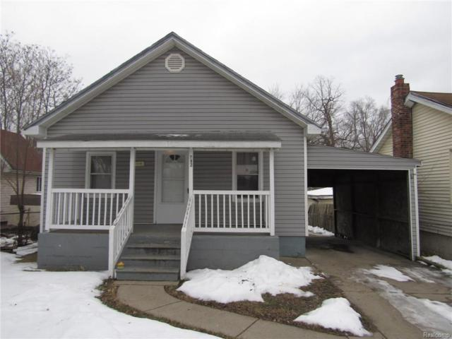 792 Monticello Avenue, Pontiac, MI 48340 (#218012787) :: RE/MAX Classic