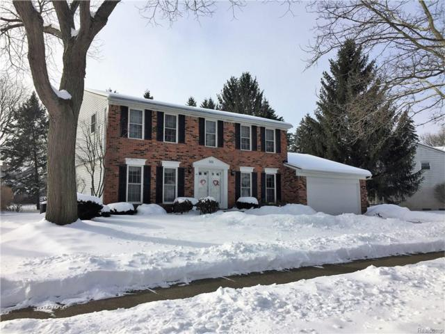 501 Morgan Circle, Northville, MI 48167 (#218013006) :: RE/MAX Classic