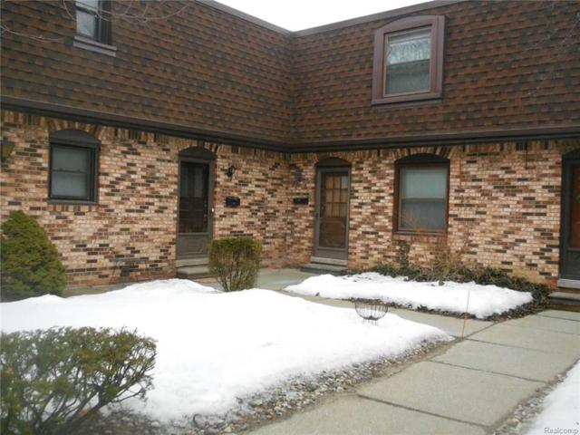 5015 Crooks Road #28, Royal Oak, MI 48073 (#218013152) :: RE/MAX Classic