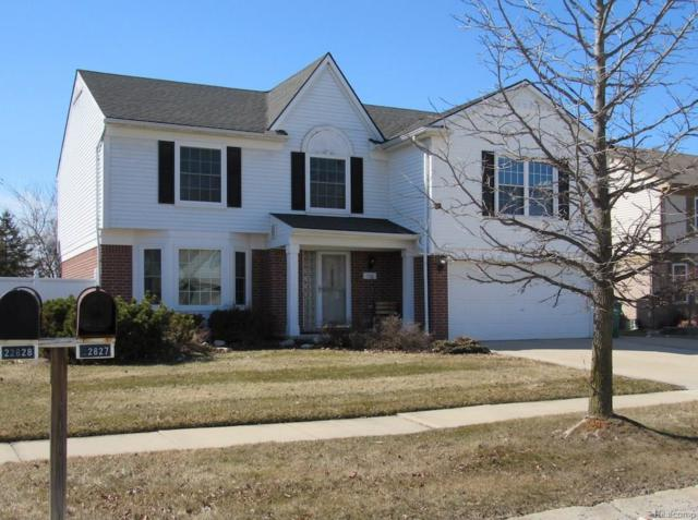 22828 Sherry Drive, Brownstown Twp, MI 48134 (#218013237) :: RE/MAX Classic