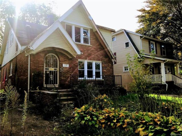 139 Worcester Pl Place, Detroit, MI 48203 (#218014890) :: RE/MAX Classic