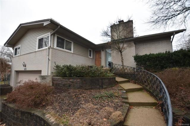 419 Ely Drive S, Northville, MI 48167 (#218014944) :: RE/MAX Classic
