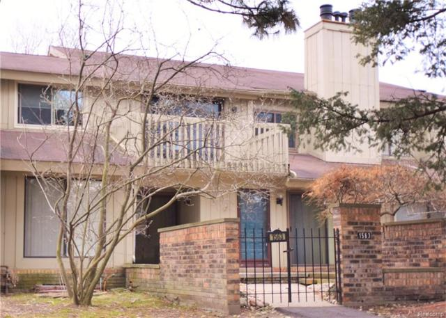 1563 S Hill Boulevard, Bloomfield Twp, MI 48304 (#218015747) :: Duneske Real Estate Advisors