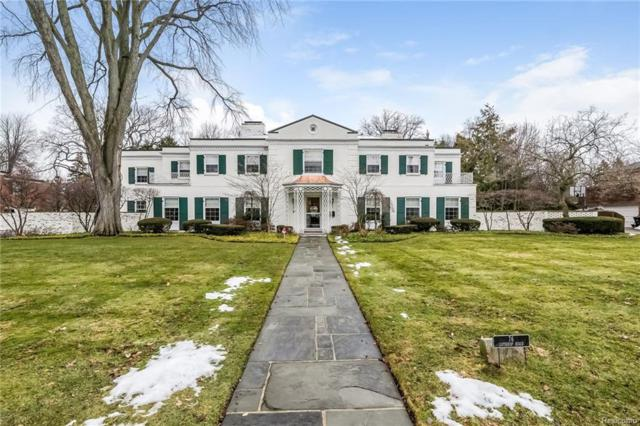 76 Lothrop Road, Grosse Pointe Farms, MI 48236 (MLS #218016616) :: The Toth Team