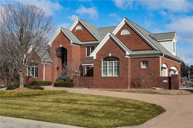18593 Fox Hollow Court, Northville Twp, MI 48168 (#218016936) :: Duneske Real Estate Advisors
