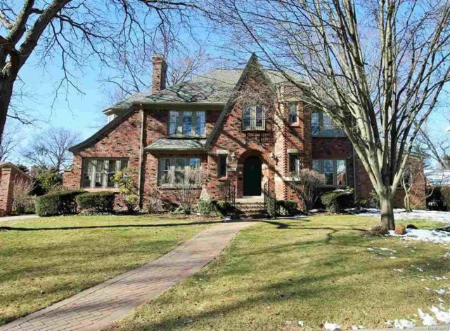 1015 Kensington Rd., Grosse Pointe Park, MI 48230 (#58031341652) :: RE/MAX Vision