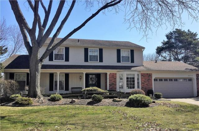45716 Clement Court, Northville, MI 48167 (MLS #218018554) :: The Toth Team