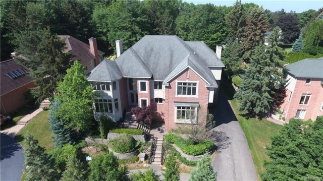 6608 Minnow Pond Drive, West Bloomfield Twp, MI 48322 (#218019738) :: Simon Thomas Homes