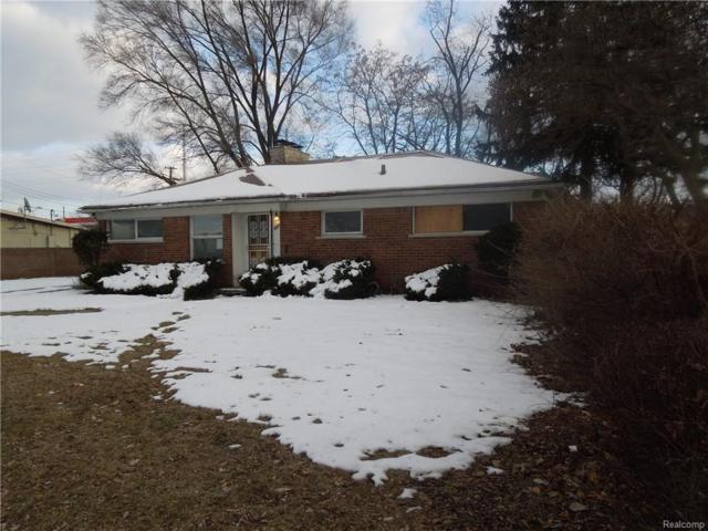 18155 Westhaven Avenue, Southfield, MI 48075 (#218019856) :: Simon Thomas Homes
