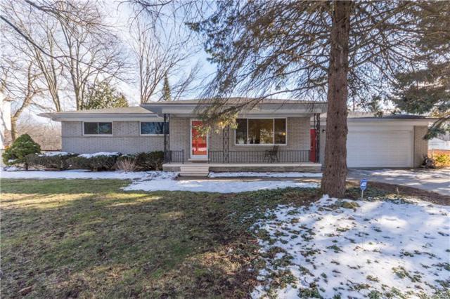 2177 Avoncrest Drive, Rochester Hills, MI 48309 (#218019978) :: Simon Thomas Homes