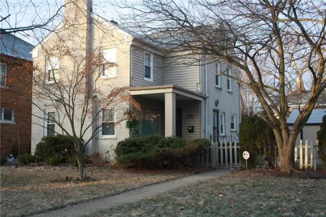 1393 Grayton Street, Grosse Pointe Park, MI 48230 (MLS #218020536) :: The Toth Team