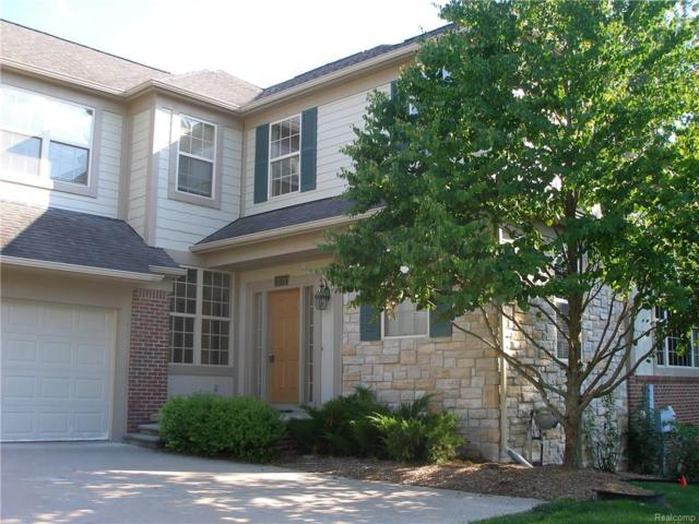 3772 Winding Brook Circle #16, Rochester Hills, MI 48309 (#218020888) :: Duneske Real Estate Advisors