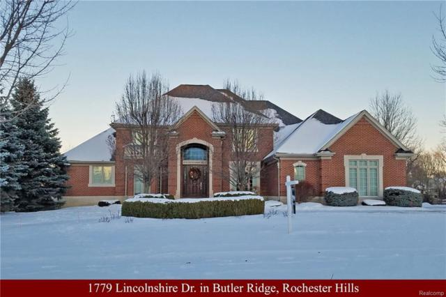1779 Lincolnshire Drive, Rochester Hills, MI 48309 (#218020903) :: Simon Thomas Homes