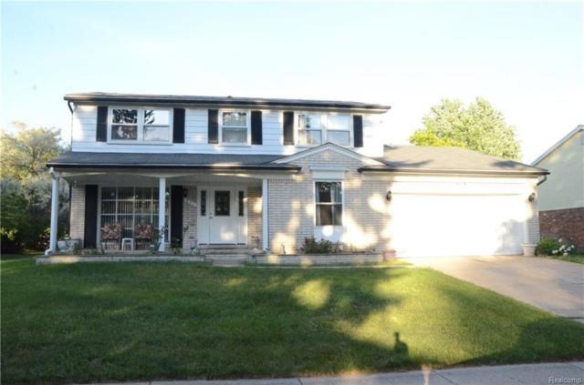 851 Hampton Circle, Rochester Hills, MI 48307 (#218020990) :: Duneske Real Estate Advisors