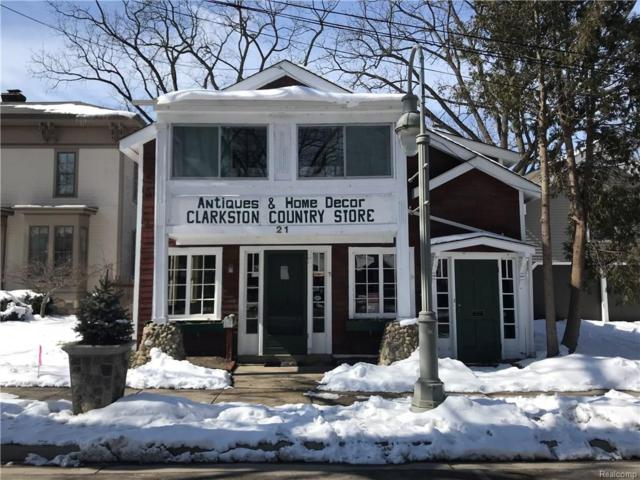 21 N Main Street, City Of The Vlg Of Clarkston, MI 48346 (#218021052) :: Duneske Real Estate Advisors