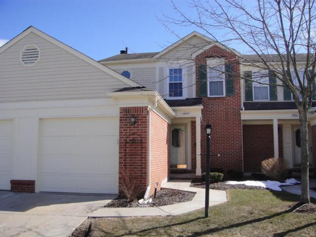 43657 Yorkville Court, Canton Twp, MI 48188 (#543255000) :: RE/MAX Classic