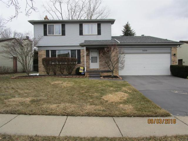 5689 Caren Drive, Ypsilanti Twp, MI 48197 (#543254885) :: Simon Thomas Homes