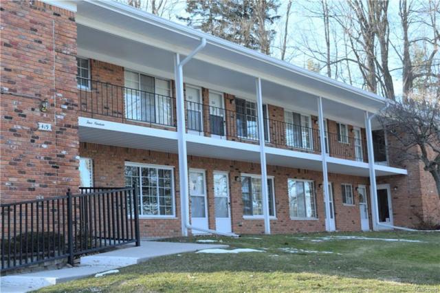 419 Prospect Street #103, Romeo Vlg, MI 48065 (#218021155) :: Duneske Real Estate Advisors