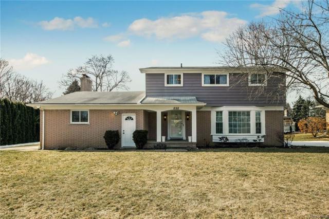 898 Lynndale Drive, Rochester Hills, MI 48309 (#218021693) :: Simon Thomas Homes