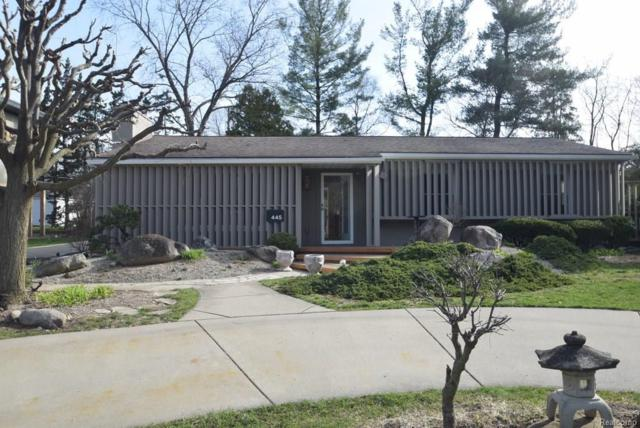 445 S Cranbrook Cross Road, Bloomfield Twp, MI 48301 (#218021697) :: RE/MAX Nexus
