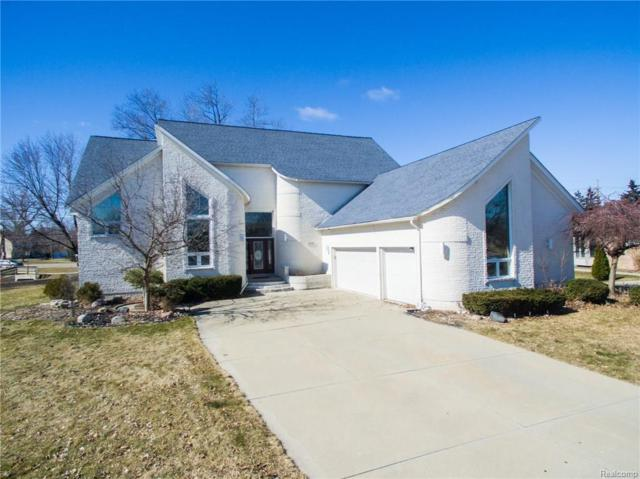 47939 Fox Chase Court, Shelby Twp, MI 48315 (MLS #218021842) :: The Toth Team