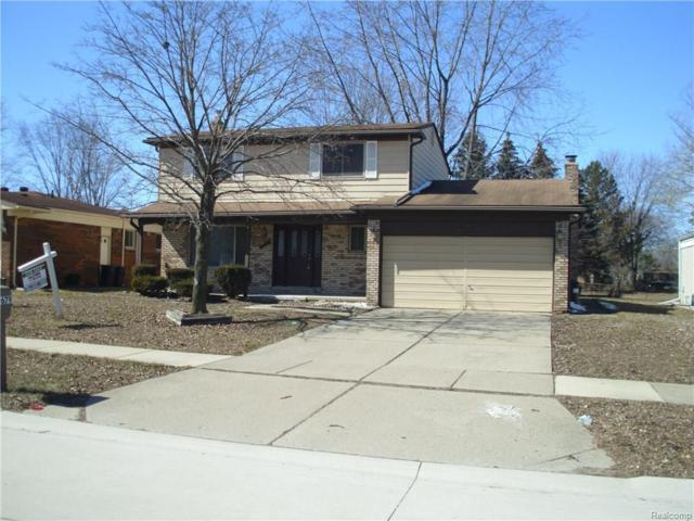 39679 Baker Drive, Sterling Heights, MI 48310 (MLS #218021892) :: The Toth Team