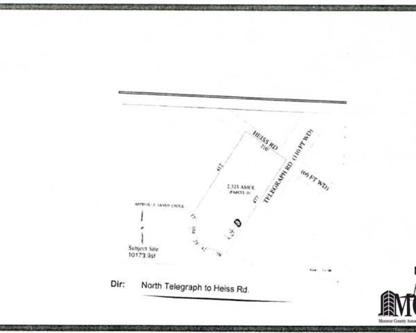0 Heiss Rd, Monroe, MI 48162 (#57003451913) :: Duneske Real Estate Advisors