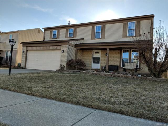 2112 E Roundtable Drive, Canton Twp, MI 48188 (#218022028) :: RE/MAX Nexus