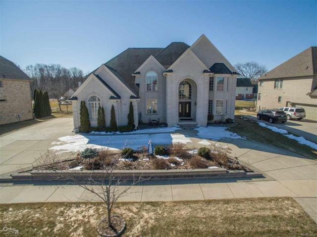 2178 Meadow Reed Dr, Sterling Heights, MI 48314 (MLS #58031342516) :: The Toth Team