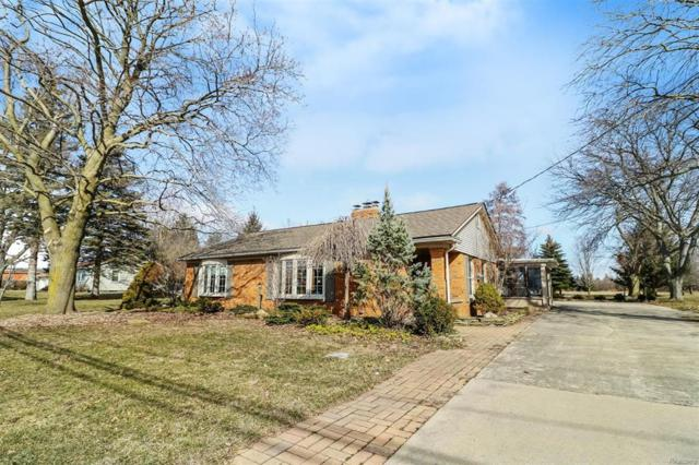 6025 Sibley Road, Chelsea, MI 48118 (MLS #543255104) :: The Toth Team