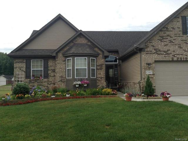 17497 Sunny Crest Drive, Brownstown Twp, MI 48174 (#218022531) :: RE/MAX Classic