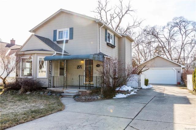820 Cherokee Avenue, Royal Oak, MI 48067 (#218022563) :: RE/MAX Vision
