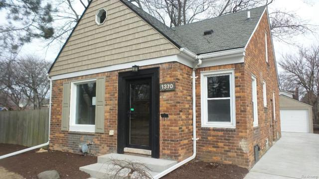 1370 Columbia Road, Berkley, MI 48072 (#218023003) :: RE/MAX Vision