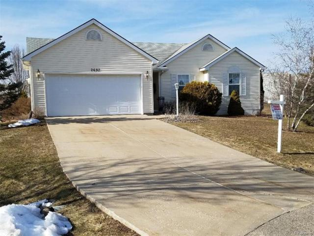 2697 Thistlewood Drive, Howell Twp, MI 48843 (#218023034) :: RE/MAX Classic
