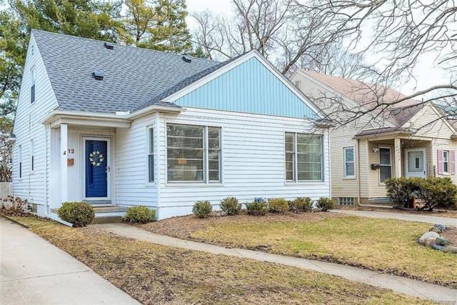 1512 N Connecticut Avenue, Royal Oak, MI 48067 (#218023327) :: RE/MAX Vision