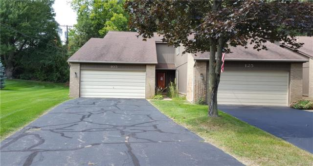 105 Woodstone Road, Waterford Twp, MI 48327 (#218023845) :: Duneske Real Estate Advisors